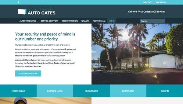 Australian Auto Gates